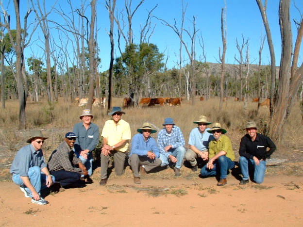Field work in the outback of Australia near Townsville 2003