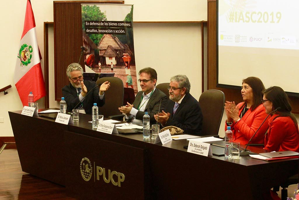 Pannel discussion in Lima, Peru