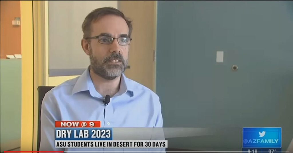 On TV discussing the Drylab 2023 project